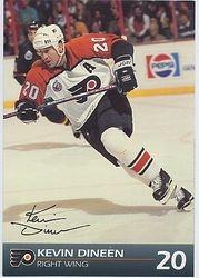 1992-93 Flyers J.C. Penney #9
