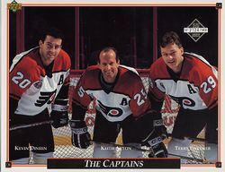 1992-93 Flyers Upper Deck Sheets #25