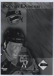 1995-96 Collector's Edge Ice Crucible Back Negative 1