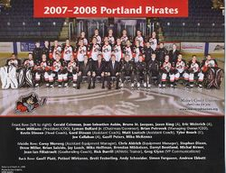 2007-08 Portland Pirates Team Picture