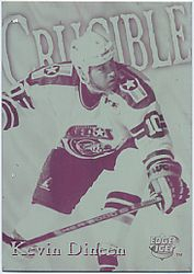 1995-96 Collector's Edge Ice Crucible Front Plate