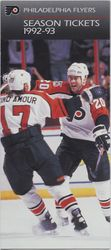 1992-93 Philadelphia Flyers Season Ticket Brochure