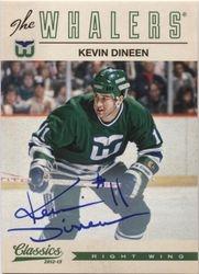 2012-13 Panini Classics Signatures Kevin Dineen AU #47