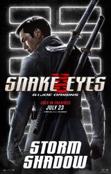 Snake Eyes - Storm Shadow poster