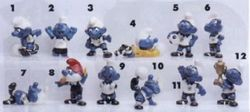 Die Fuball-Schlumpfe - Soccer Smurf - 1988
