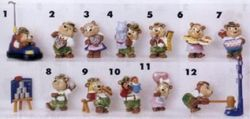 Die Top Ten Teddies in Volksfeststimmung - 1996