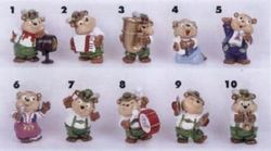 Top Ten Teddies - 1995