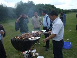 Jillabasi bhela in uk with BBQ