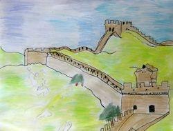 "James Li, age 6, ""Great Wall of China"""