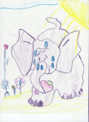 Vivian Lang, age 5, Honorable Mention (tie), age 4-8 group