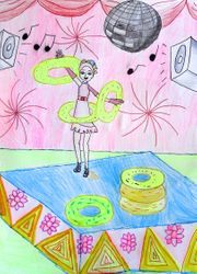 Sophie Liu, age 8, 3rd place, younger group