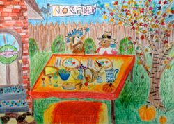 Sanjana Aslesh, age 8, 1st place (tie), younger group (November)