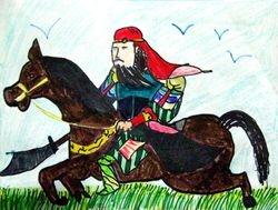 Evelyn Ngo, age 9, The Chinese Warrior