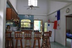 Bar and Kitchen at La Casa Verde Panama