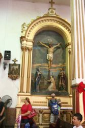 The Golden Altal In Iglesia SanJose