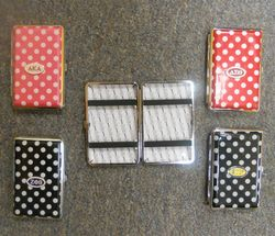 Polka Dot Business Card Cases