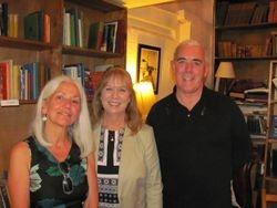 Paula Meehan, Laura, and Theo Dorgan