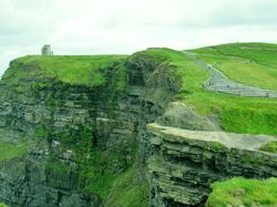 The ledge and O'Brien's Tower
