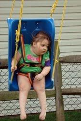 Lauren's new swing