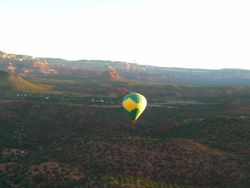 Balloon descent