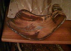 Double Curve Dish - sold