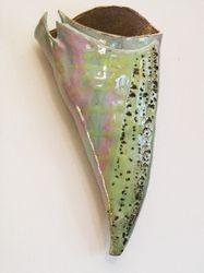 Stamped Pastel Sconce - sold