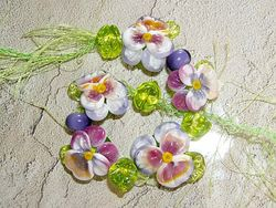 Water Color Pansy