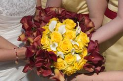 Yellow & Red Bouquets