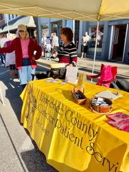 Spreading awareness of LCCPS at Persimmon Festival