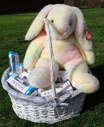 Bunny brings thermometer at Easter