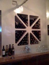 Custom Built-in Wine Rack