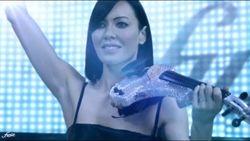 Linzi Stoppard Live Artist Virtual Reality Show.