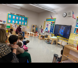 Pre-K 114 celebrates World Read Aloud Day with author Fiona Smart!