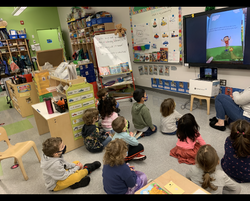 Pre-K 118 celebrates World Read Aloud Day with author Fiona Smart!