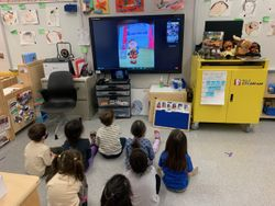 Pre-K 116 celebrates World Read Aloud Day with author Fiona Smart!
