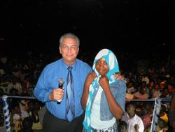 Pastor Curtis and Woman Healed From Deafness