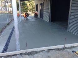 Final concreting