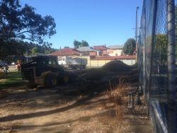 Old clubhouse demolished