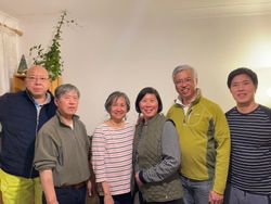 Meet up with Pastor Ip and Gordon's family