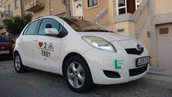 Toyota vitz Lpg/unleaded automatic transmition