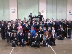mac kenpo students class 14th Feb.