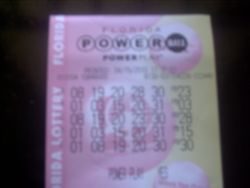 The PowerBall Ticket