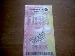 Here's The Winning PowerBall Ticket