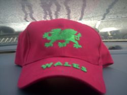 My Brand New Hat From Wales !!!