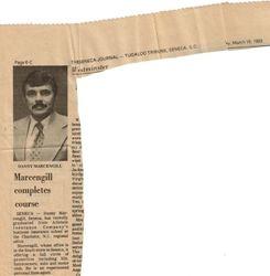 Danny Marcengill c-1981