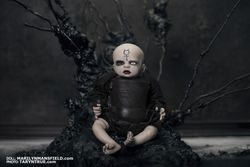 Marilyn Manson inspired reborn doll