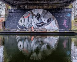 Digbeth Canal reflection