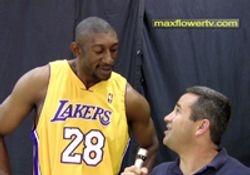DJ Mbenga, Lakers