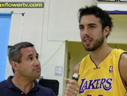Sasha Vujacic, Lakers