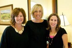 Jen Siedzkowski, Kristie Barkman, and Melissa Lane